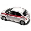Fiat 500 Top Check End Stripe