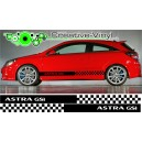 Astra GSi Side Stripes Style 11