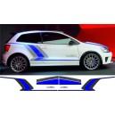 Volkswagen Polo R WRC Side & Bonnet Stripes