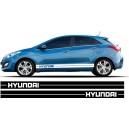 Hyundai i30 Side Stripe Style 13