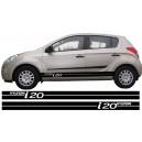 Hyundai i20 Side Stripe Style 1