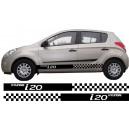 Hyundai i20 Side Stripe Style 2