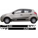 Hyundai i20 Side Stripe Style 3