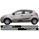 Hyundai i20 Side Stripe Style 5