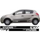 Hyundai i20 Side Stripe Style 6