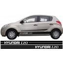 Hyundai i20 Side Stripe Style 7