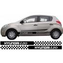 Hyundai i20 Side Stripe Style 8