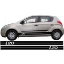 Hyundai i20 Side Stripe Style 10