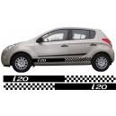 Hyundai i20 Side Stripe Style 11