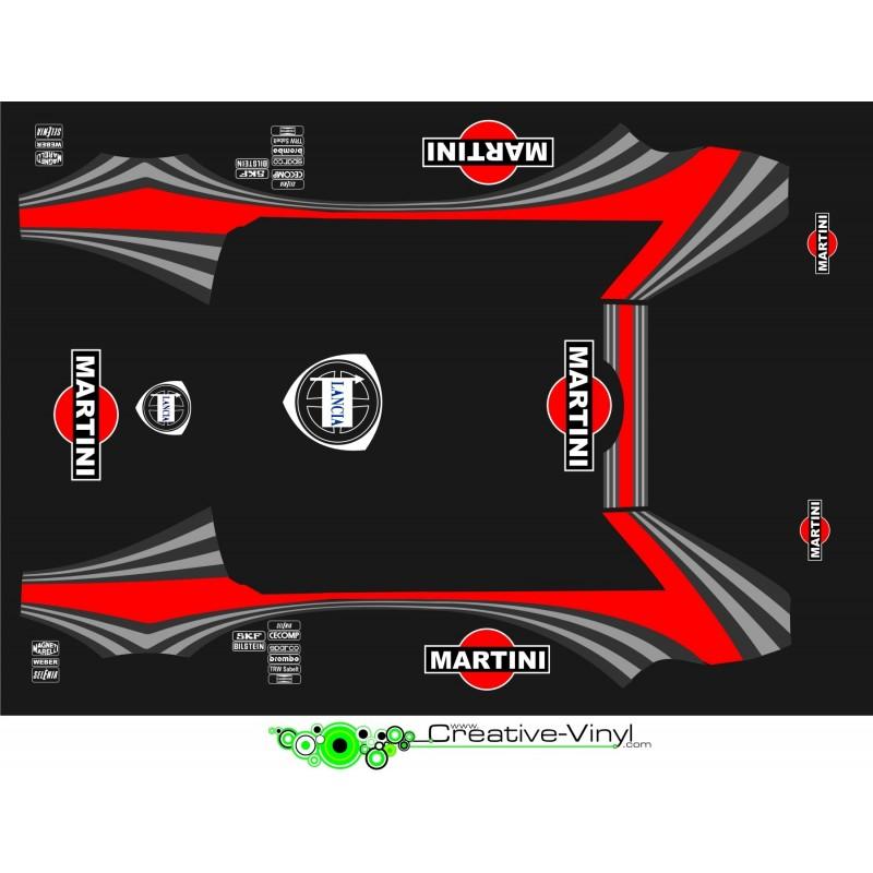 Lancia Delta Martini Wrc Full Graphics Kit