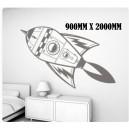 Large Spaceship Wall Art