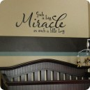 Miracle Boy Wall Art