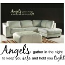Angels Gather Wall Art