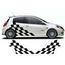 Renault Clio Custom Side Graphic 25
