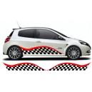 Renault Clio Custom Side Graphic 26