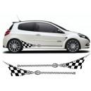 Renault Clio Custom Side Graphic 29