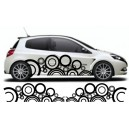 Renault Clio Custom Side Graphic 32