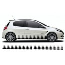 Renault Clio Custom Side Graphic 33