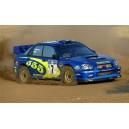 Subaru Impreza 2003 Acropolis 555 Rally Graphics Kit