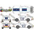 Porsche Martini Graphics Kit