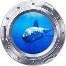3D Shark Porthole