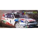 Toyota Corolla 1999 Portugal WRC Full Rally Graphics Kit