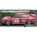 Mitsubishi Evolution VI 2000 WRC Full Rally Graphics Kit