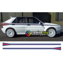 Lancia Delta integrale Martini Side Stripes