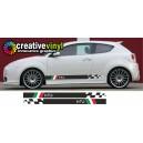 Alfa Romeo MITO Decal, Sticker, Graphic style 11