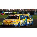 Renault Laguna 1997 BTCC Menu Full Graphics Kit