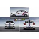 VW Polo WRC Martini Side Stripe Kit
