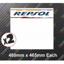 Race Number Board Repsol