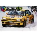 Subaru Legacy 1992 Camel Sweden WRC Graphics Kit