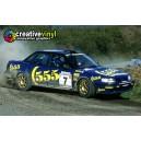 Subaru Legacy 1993 555 WRC Graphics Kit