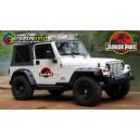 Jurassic Park Jeep Graphics x3