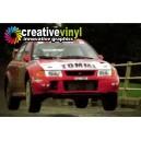 Mitsubishi Evolution VI 6 1999 WRC Full Rally Graphics Kit