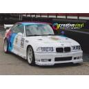 BMW E36 M3 Schnitzer DTM Full Graphics Rally Kit.