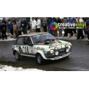 Fiat Ritmo Alitalia 1978 Full Rally Graphics Kit