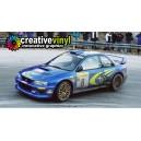 Subaru Impreza 1999 Rally Monte Carlo WRC Rally Graphics Kit