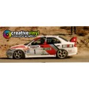 Mitsubishi Evolution 4 97 Catalunya WRC Full Rally Graphics Kit