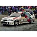 Mitsubishi Evolution 2 94 Monte Carlo WRC Full Rally Graphics Kit