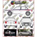 Lancia Delta integrale Martini Side Stripes 2