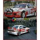 Mitsubishi Evolution 3 WRC Full Rally Graphics Kit