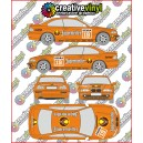 BMW E46 M3 Jagermeister DTM Full Graphics Rally Kit.