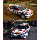 Toyota Corolla 1998 Castrol Finland WRC Full Rally Graphics Kit