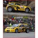 Proton Satria R3 WRC Monte Carlo 2011 Graphics Kit