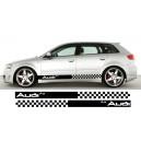 Audi A3 Side Stripe Style 11