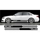 Audi A4 Side Stripe Style 11