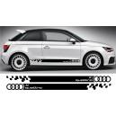 Audi A1 Side Stripe Style 11