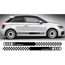 Audi A1 Side Stripe Style 12